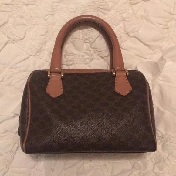 Celine Handbags - Vintage Celine mini Boston bag a5571754c5f8a